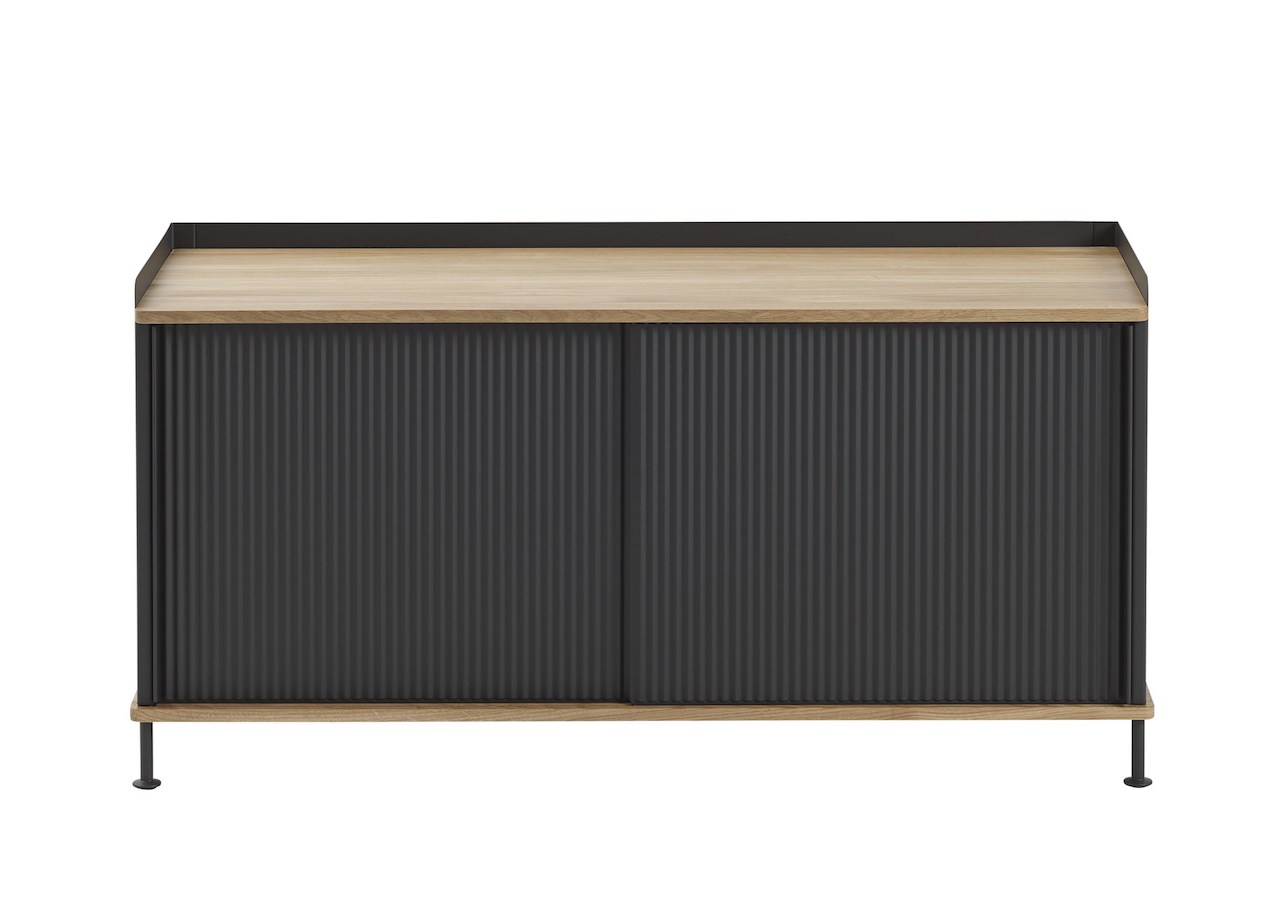 muuto Enfold Sideboard oak/ black