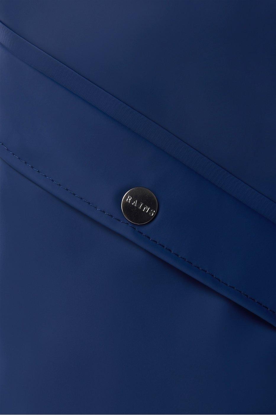 Rains Long Jacket true blue unisex S/M
