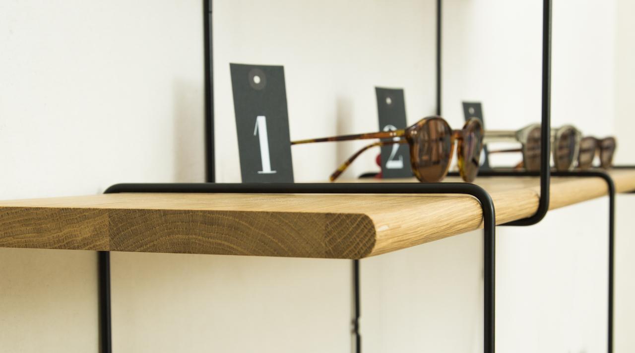 Studio Hausen Link Regal Setup2 Eiche   Schwarz