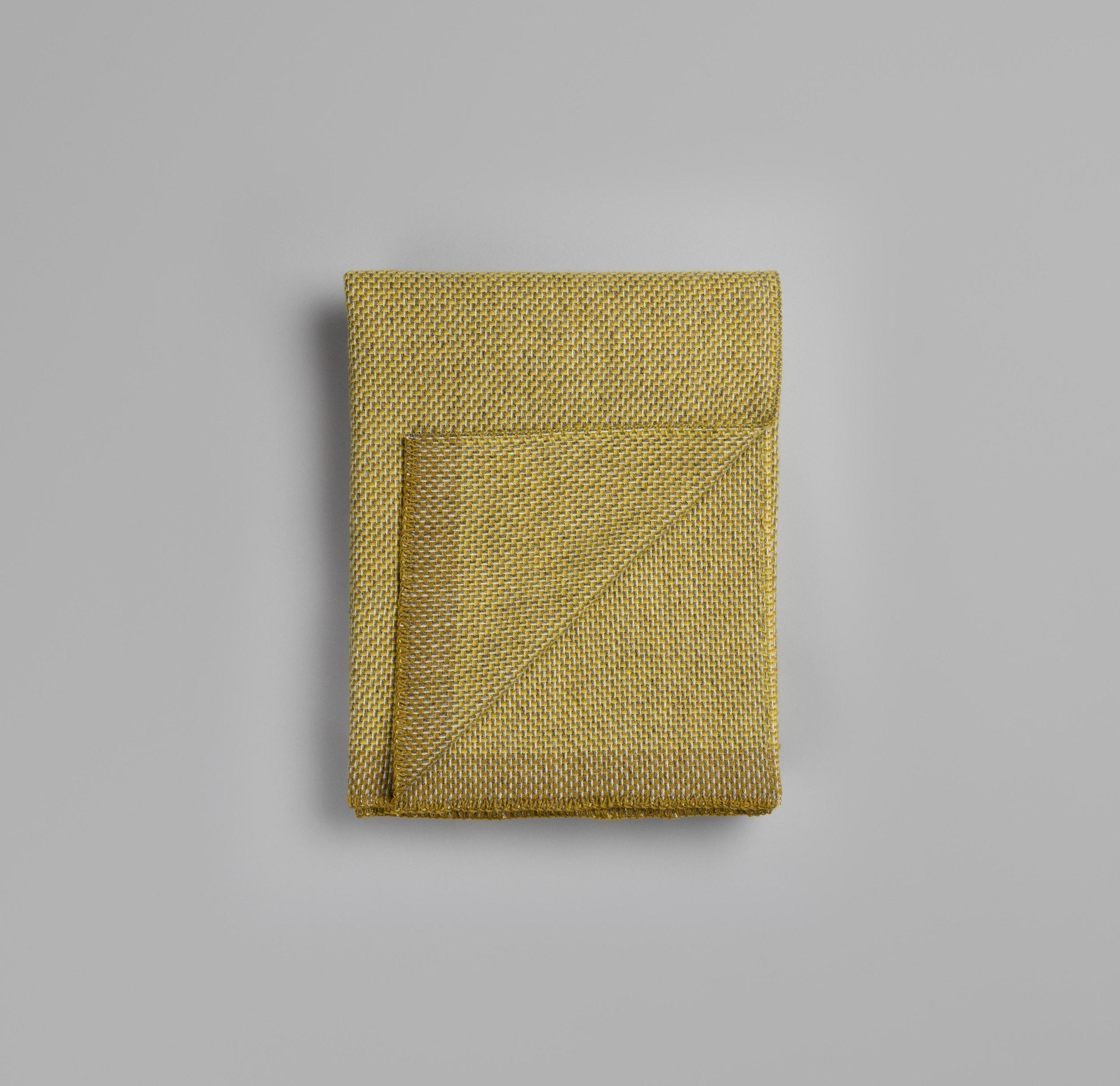 Røros Tweed Decke Una gelb