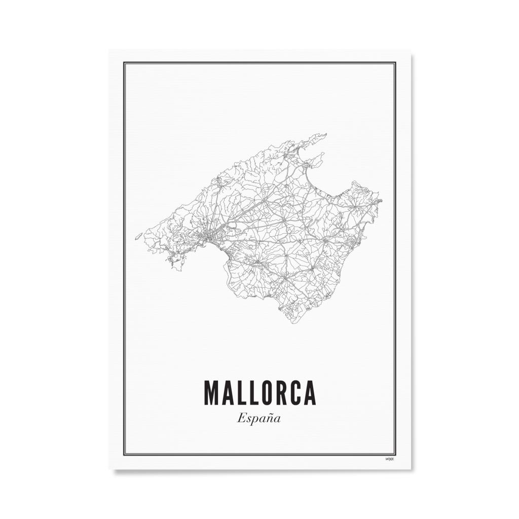 Wijck Poster Mallorca 21x30cm