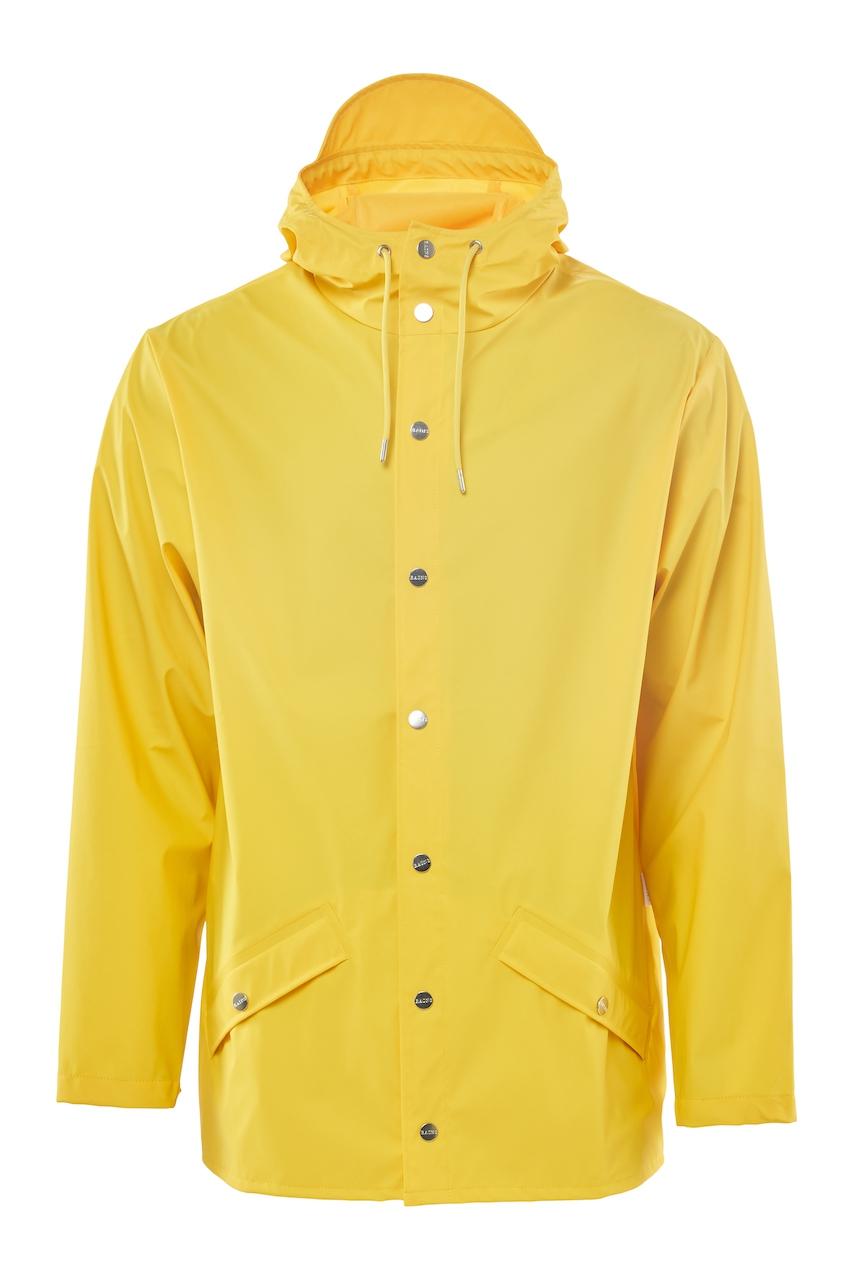 Rains Jacket yellow unisex M/L