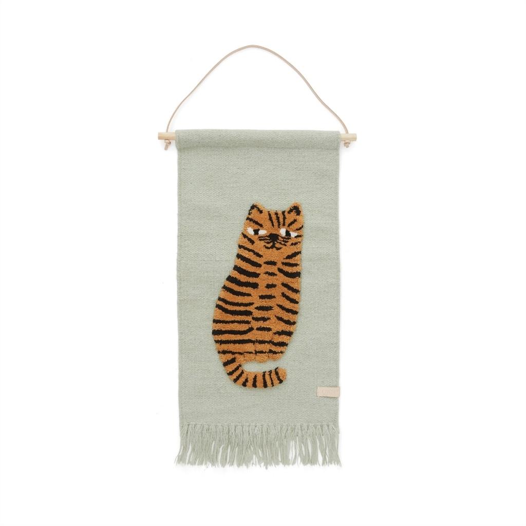 OYOY Wandteppich Tiger