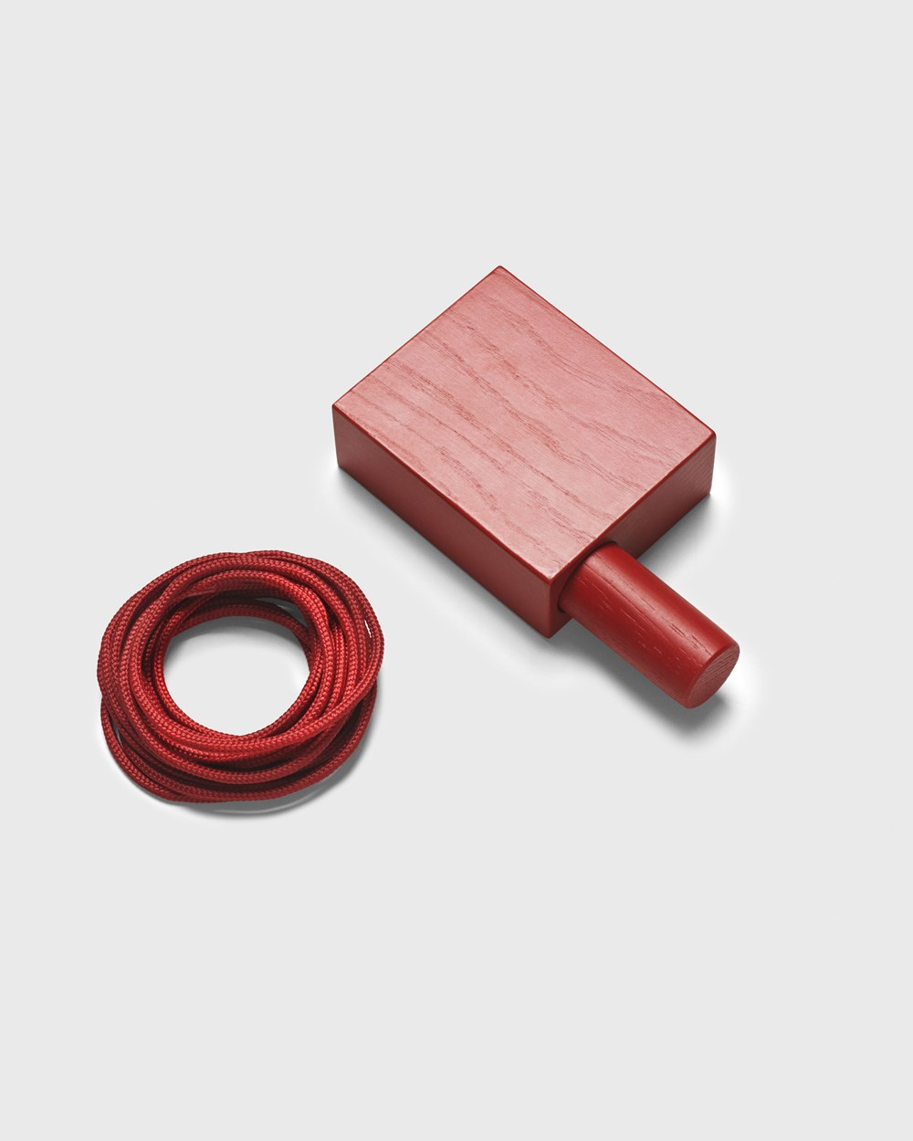 Kvadrat Hanging mechanism and rope bordeaux rot