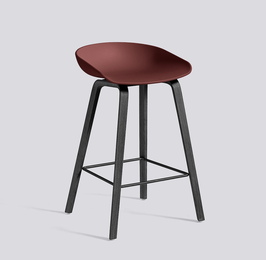HAY About a Stool 32 schwarz brick