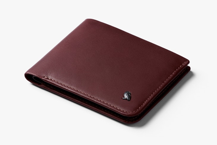 Bellroy Wallet Hide & Seek Wine