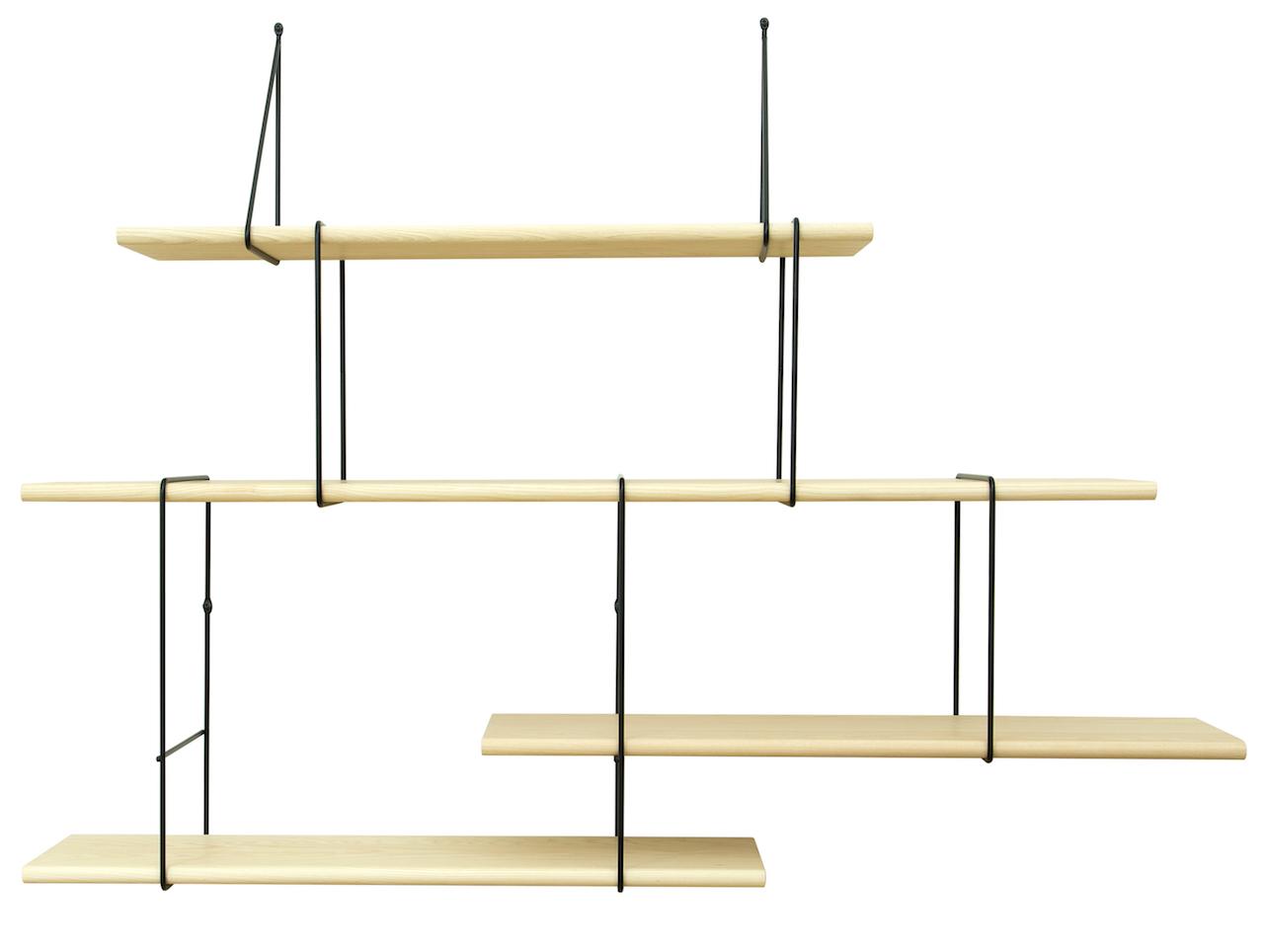 Studio Hausen Link Regal Setup2 Esche | Schwarz