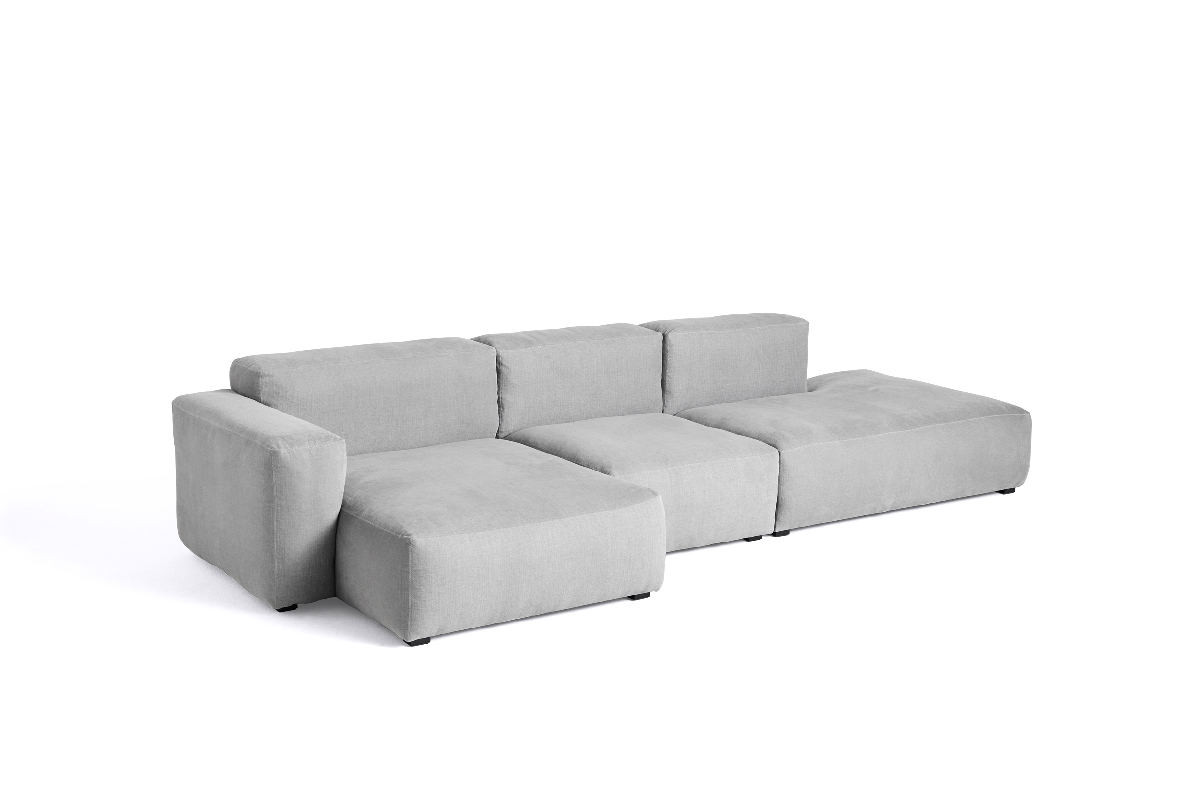 HAY Mags Soft Sofa 3 Sitzer Kombination 4 left low