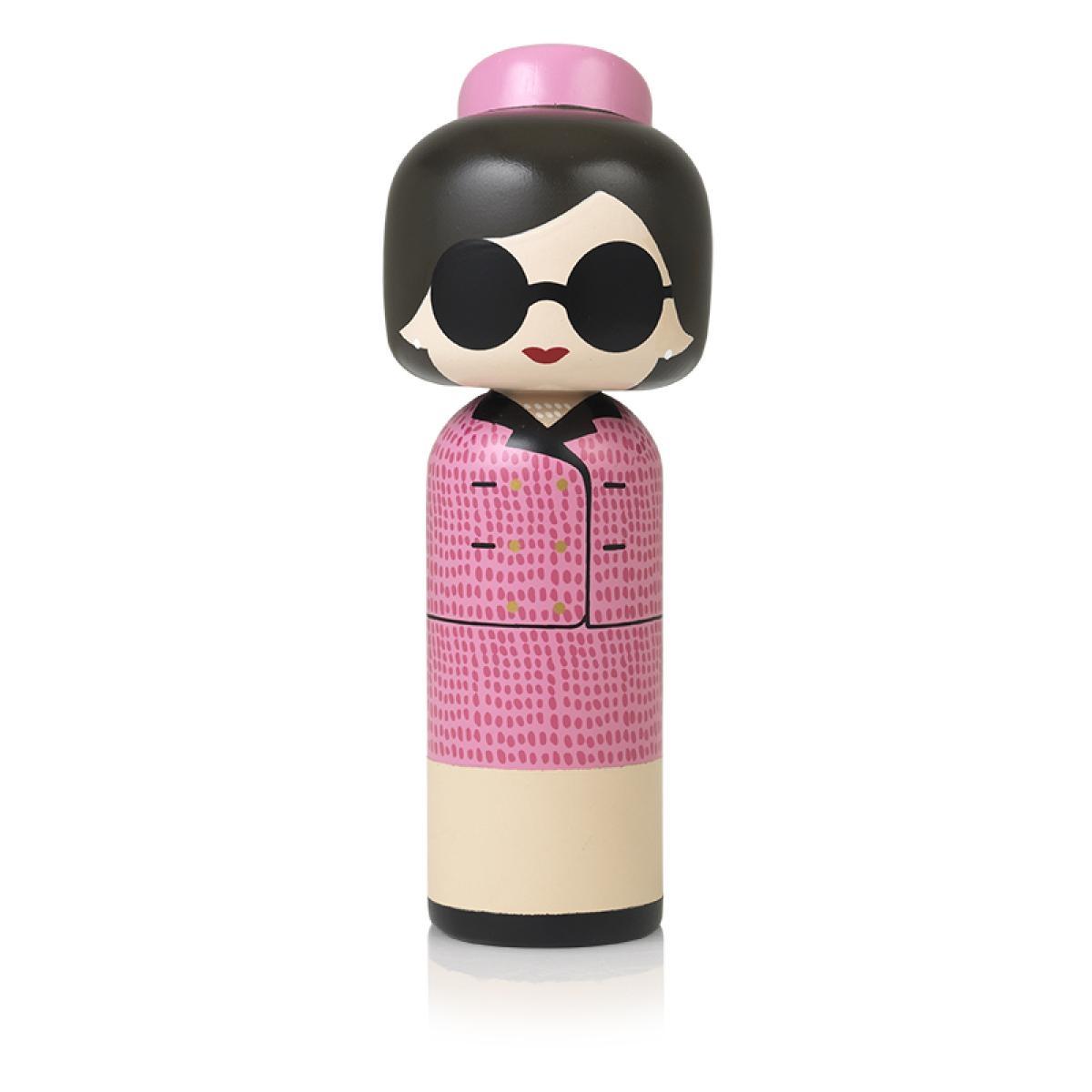 Lucie Kaas Jacky Kennedy Kokeshi Doll