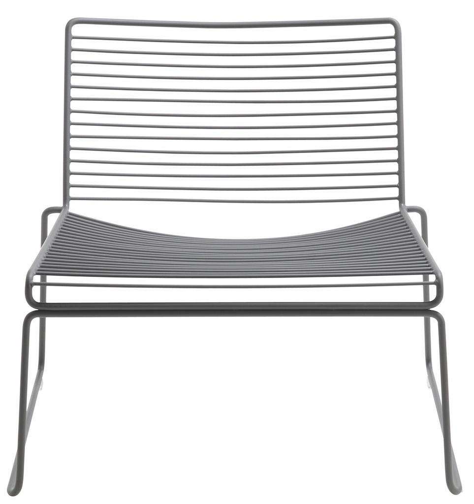 Hay HEE Lounge Stuhl Asphalt Grey