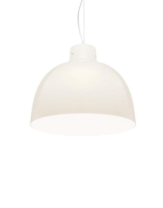 Kartell Pendelleuchte Bellissima weiß glänzend