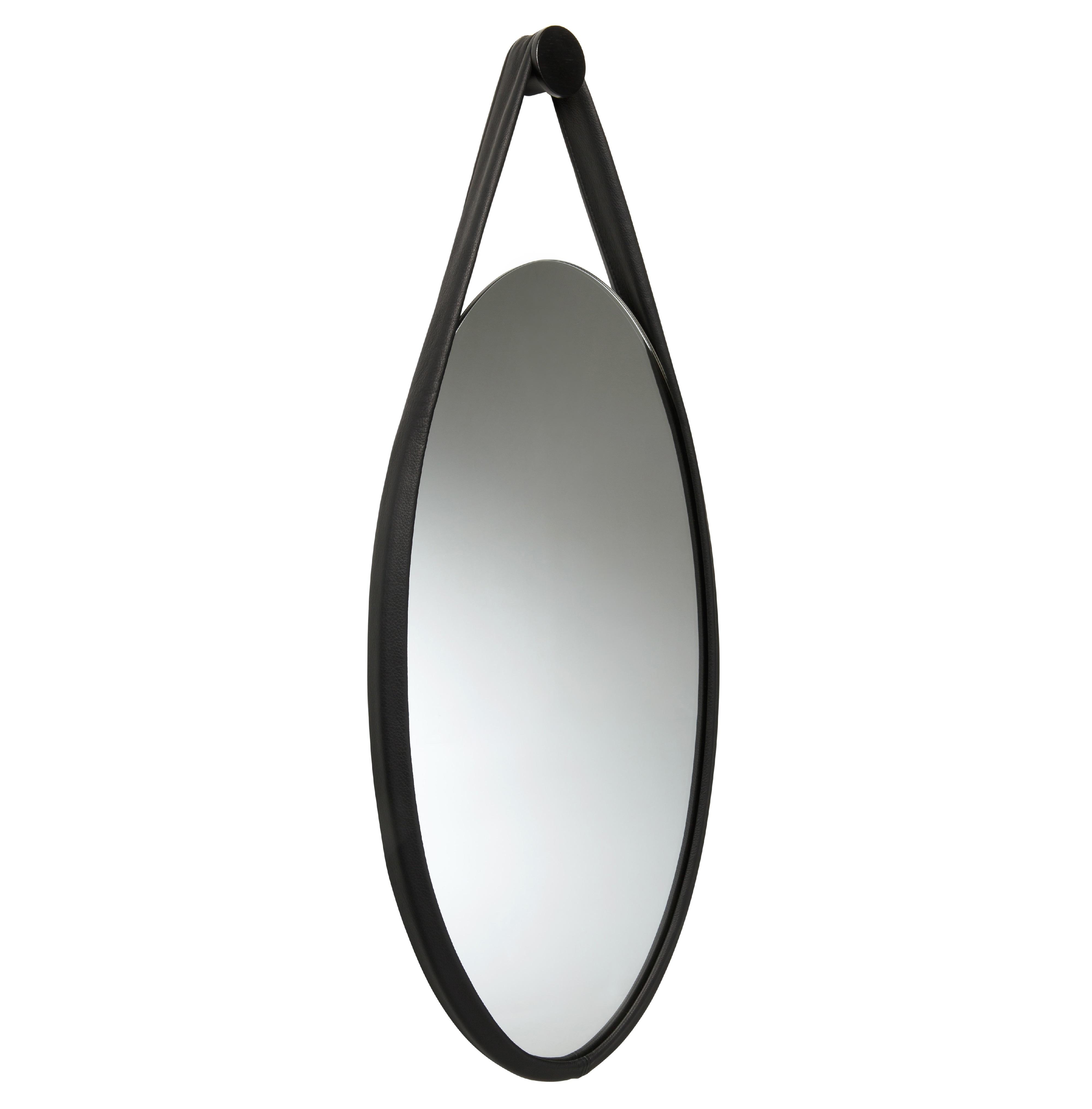 favius Wandspiegel Hide schwarz