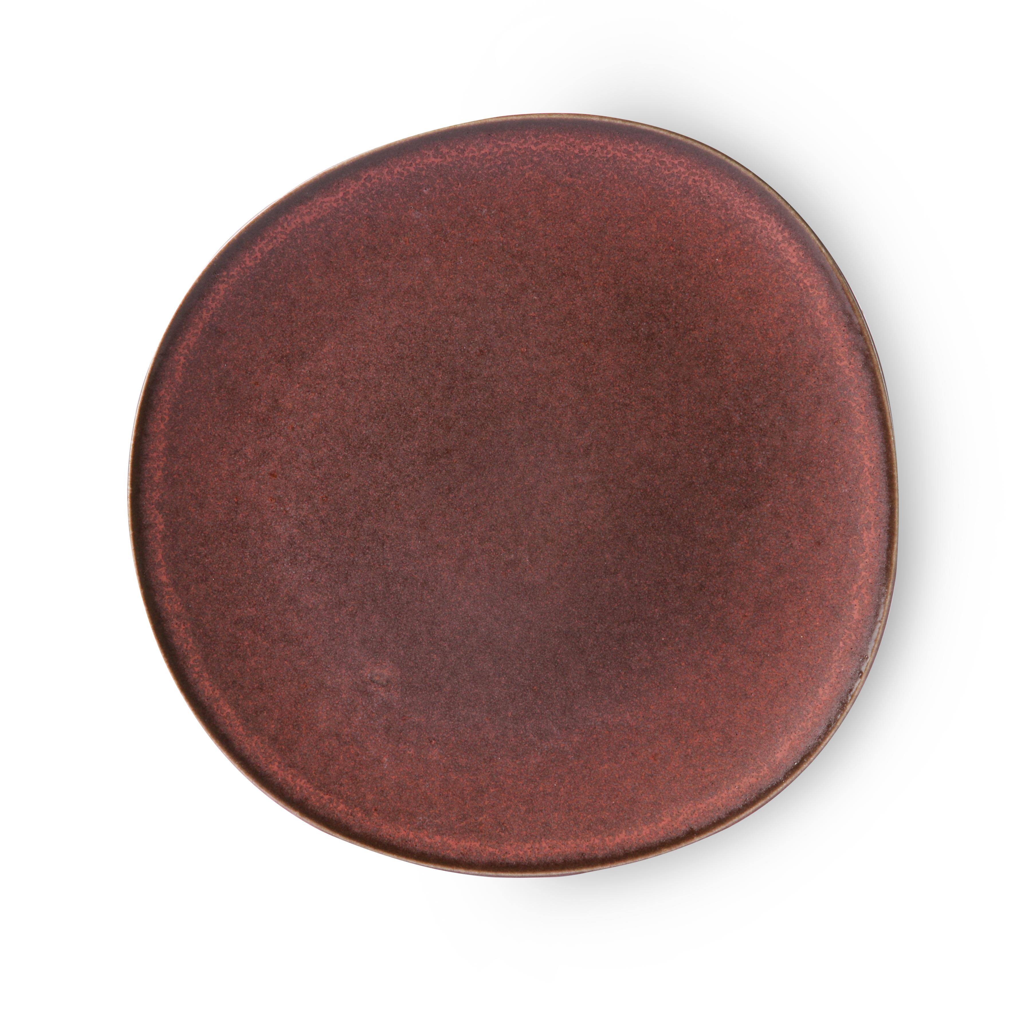 HK Living Bold & Basic Ceramics Teller terra