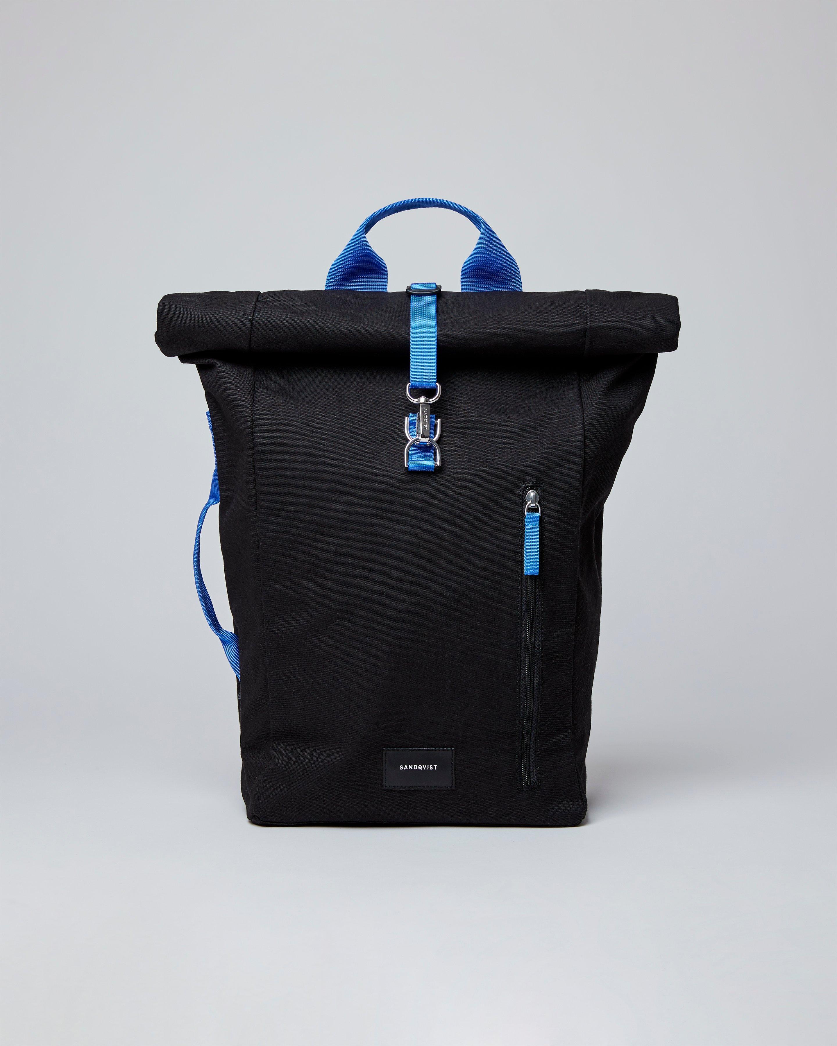 Sandqvist Rucksack Dante schwarz-blau