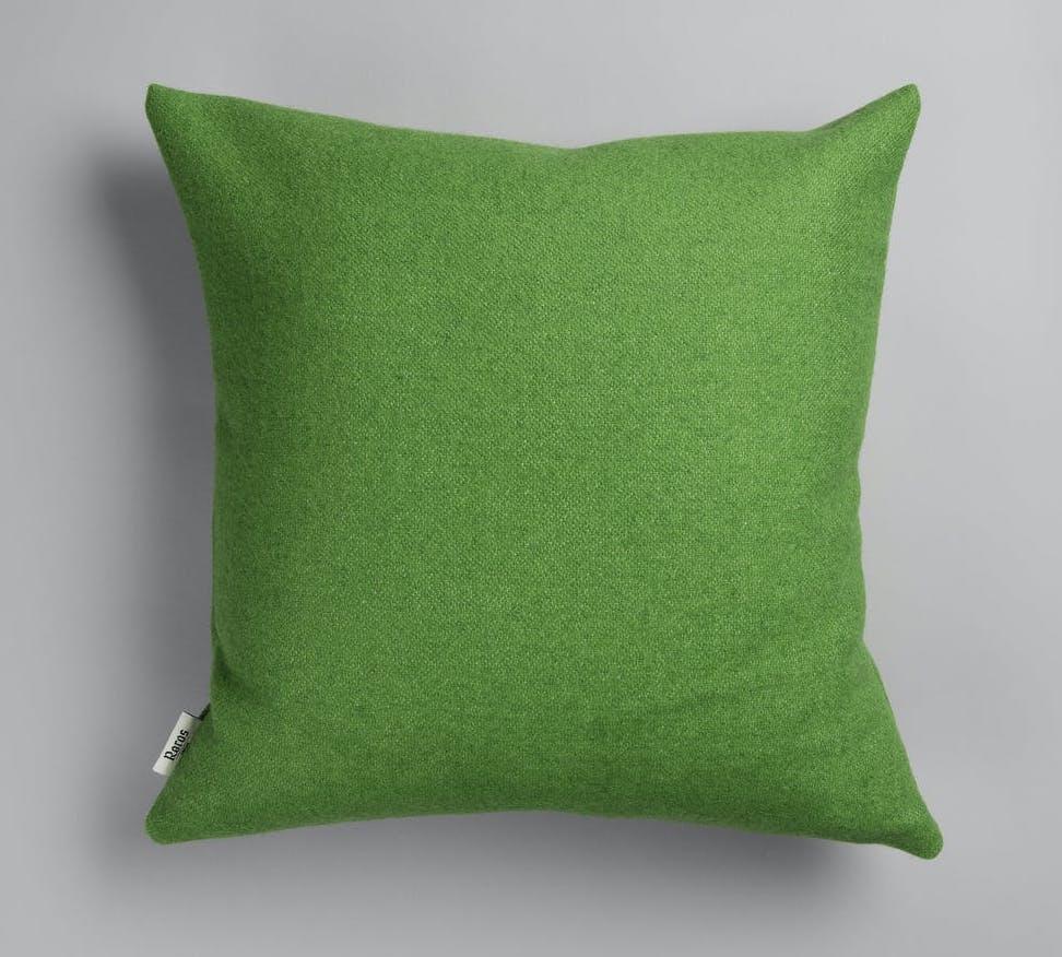 Røros Tweed Kissen Stemor grün