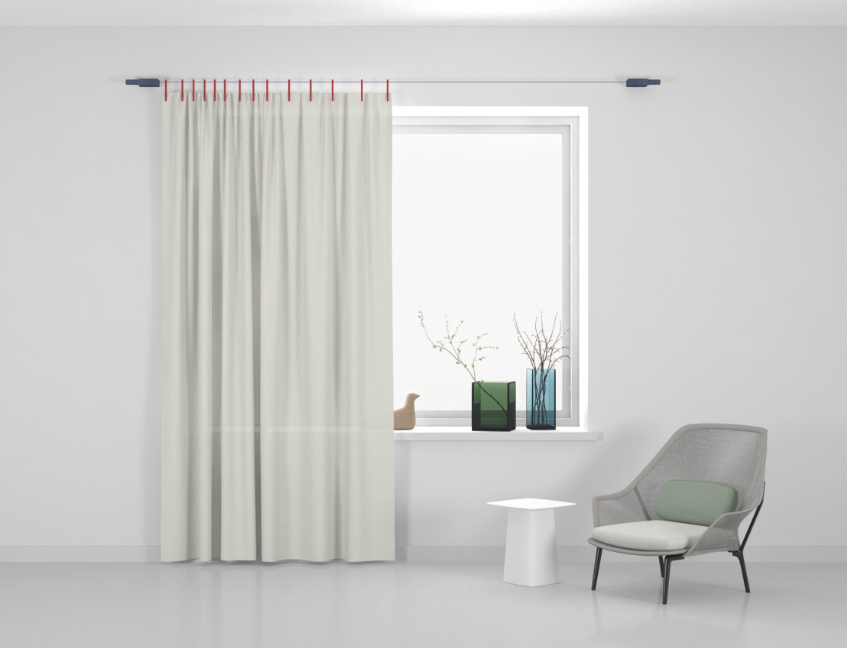 Kvadrat Ready made curtain Stoff Haze 114
