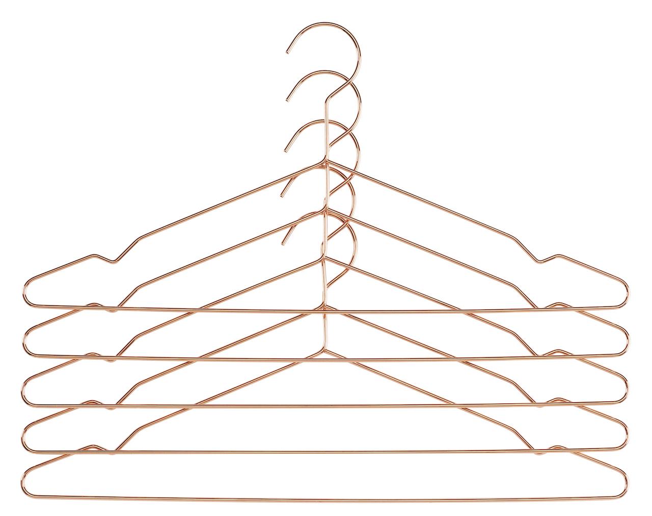 HAY Kleiderbügel Hang Copper
