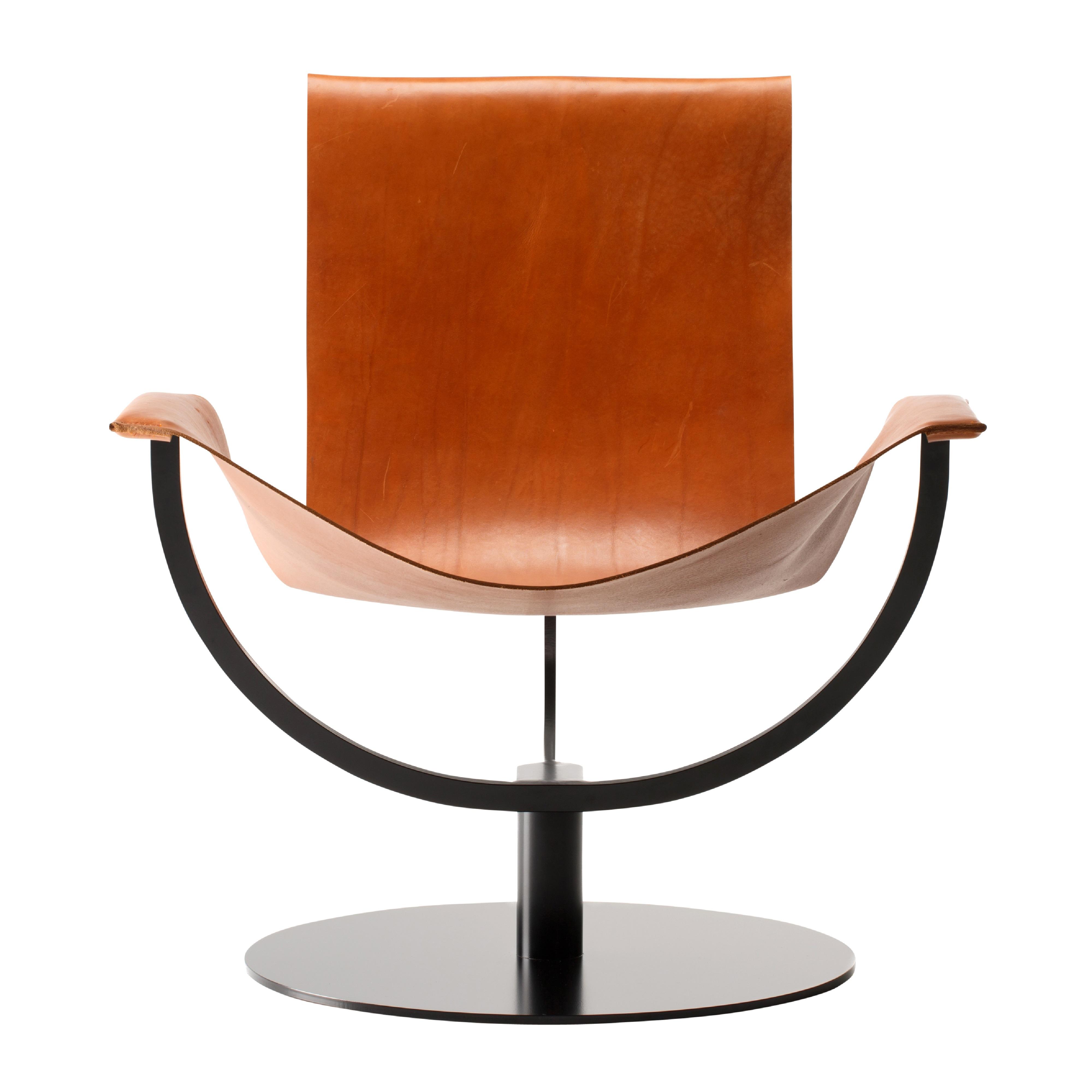 favius Arch Chair Cognac