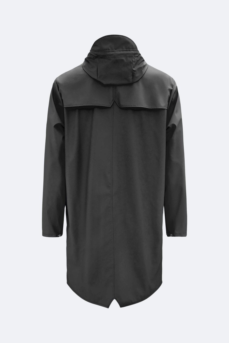 Rains Long Jacket schwarz unisex XS/S