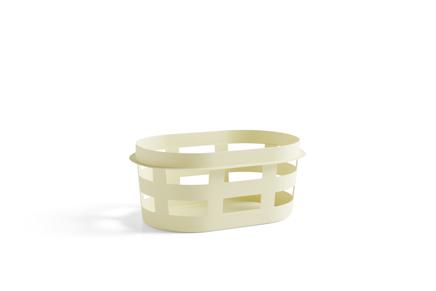 HAY Korb Basket soft yellow