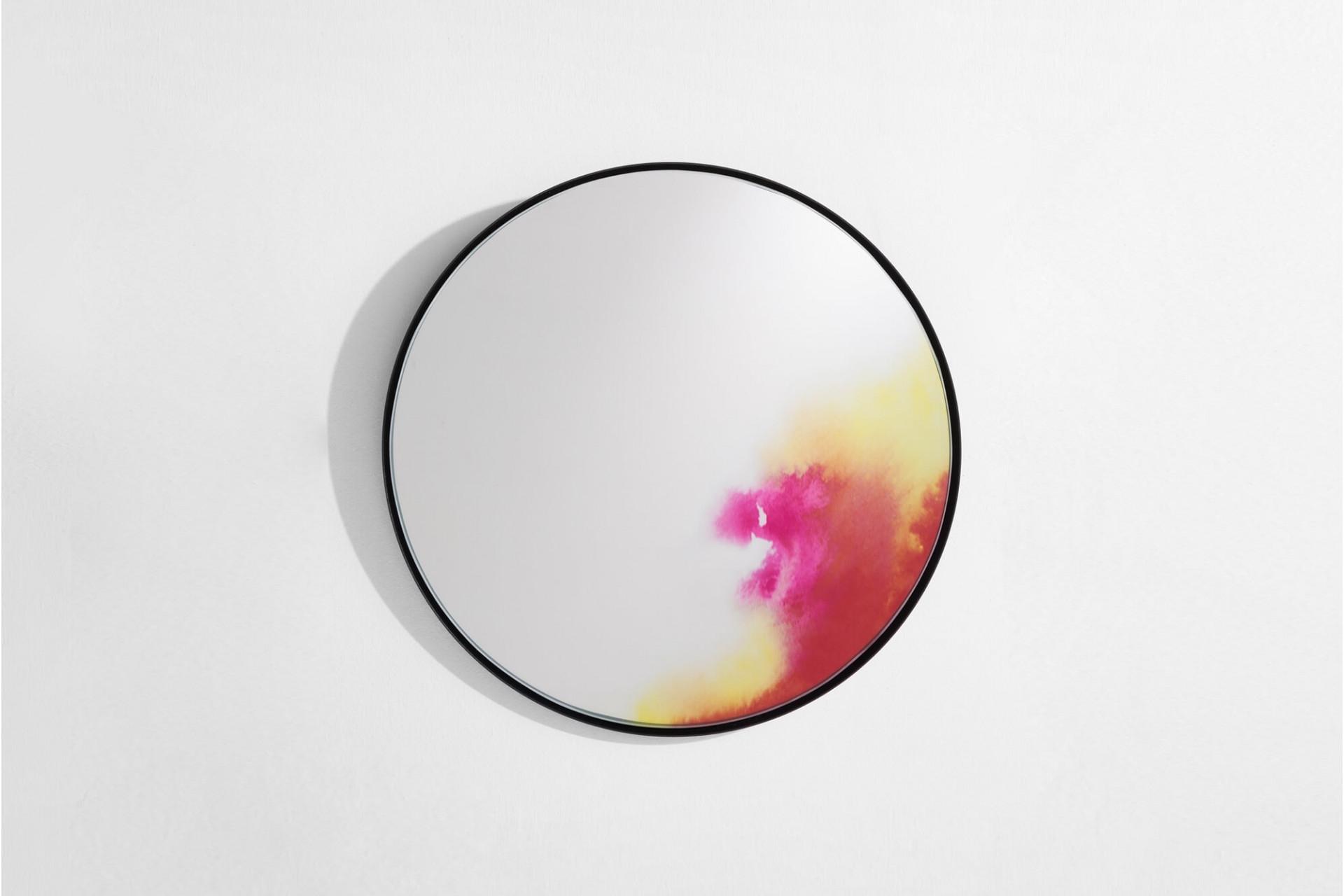 petite friture Spiegel Francis pink klein