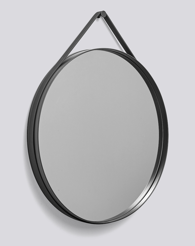 Hay Strap Mirror anthrazit