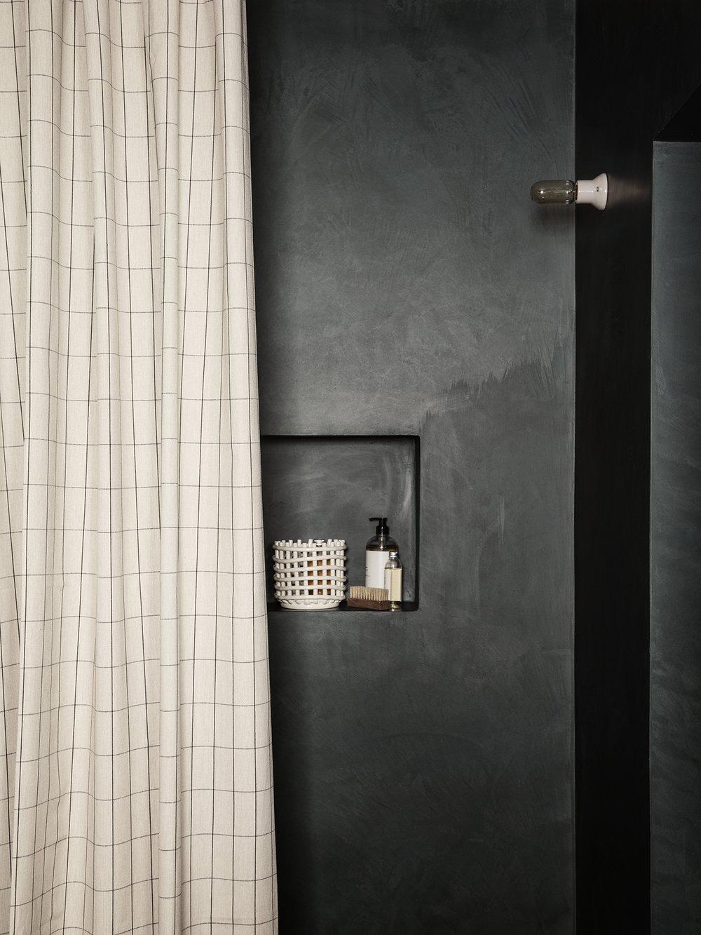ferm living Duschvorhang Grid