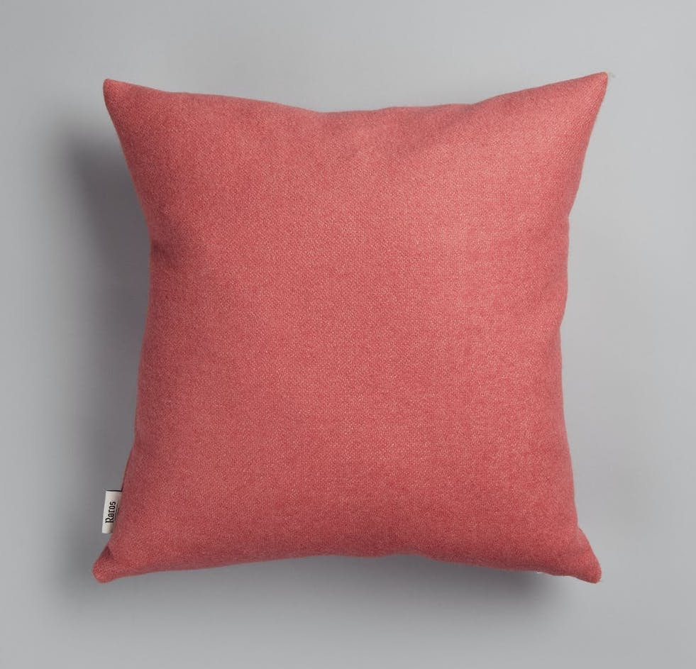 Røros Tweed Kissen Stemor pink