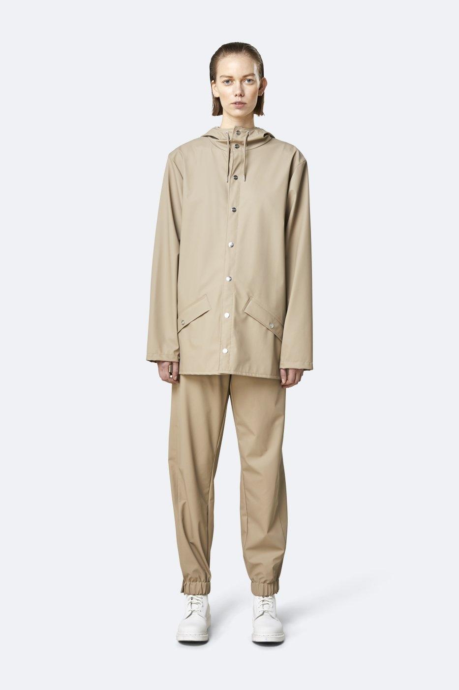 Rains Jacket beige unisex XS/S