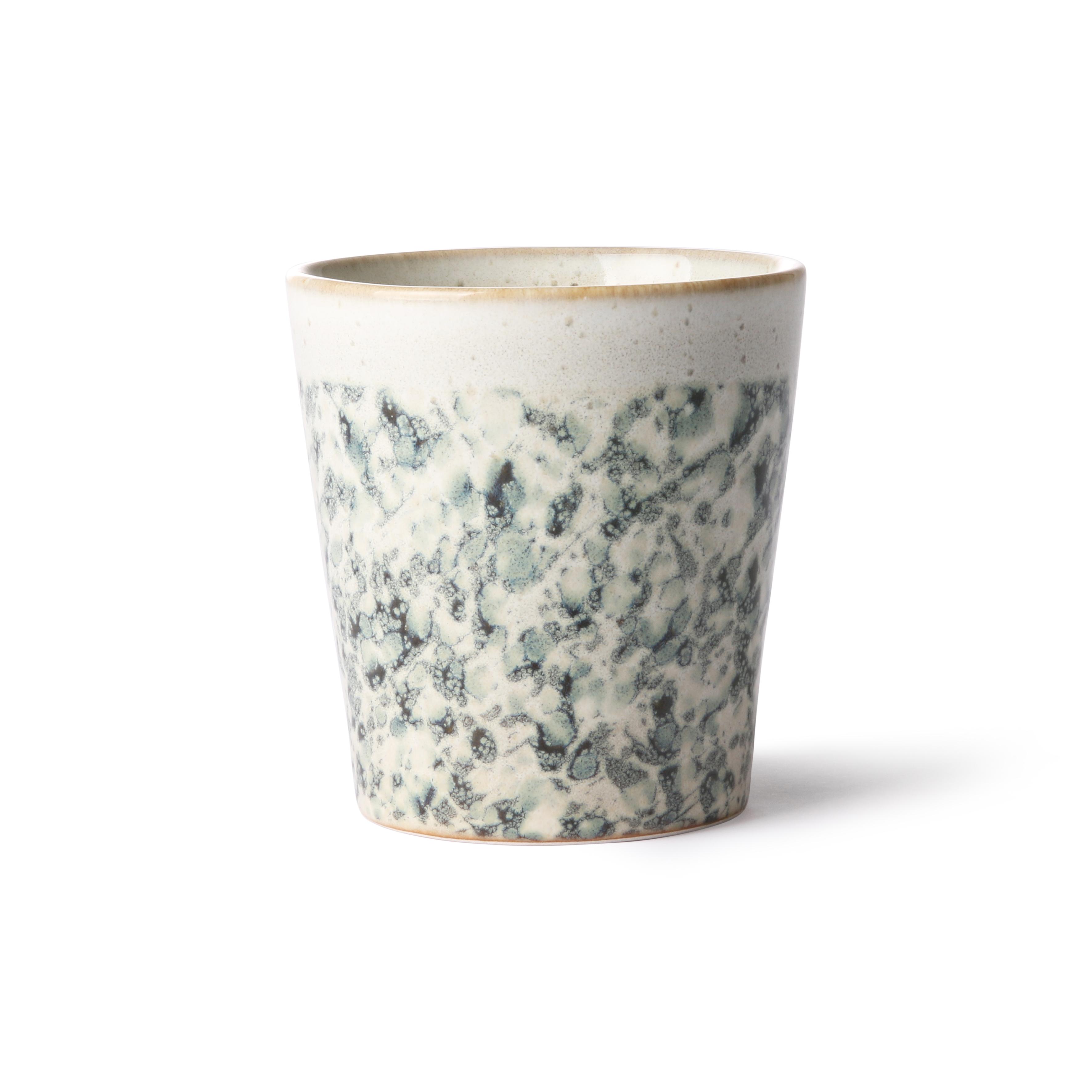 HK Living Ceramic 70's Becher hail