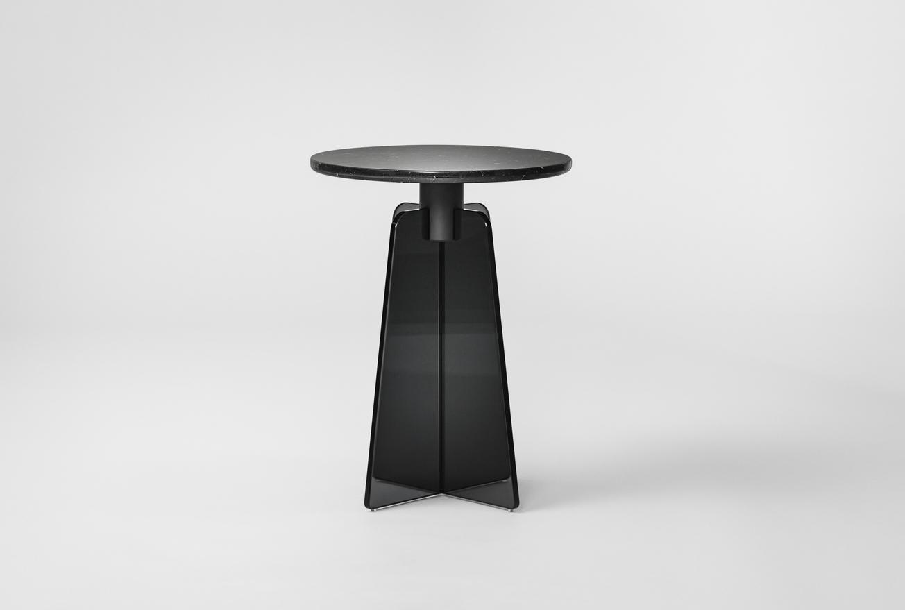 Million CPH Cupola Side Table schwarz