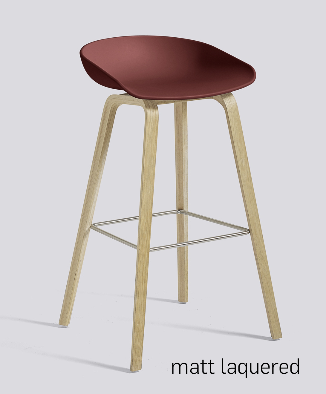 HAY About a Stool 32 Eiche brick