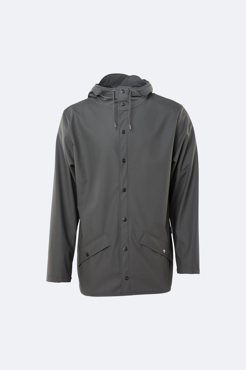 Rains Jacket charcoal unisex S/M