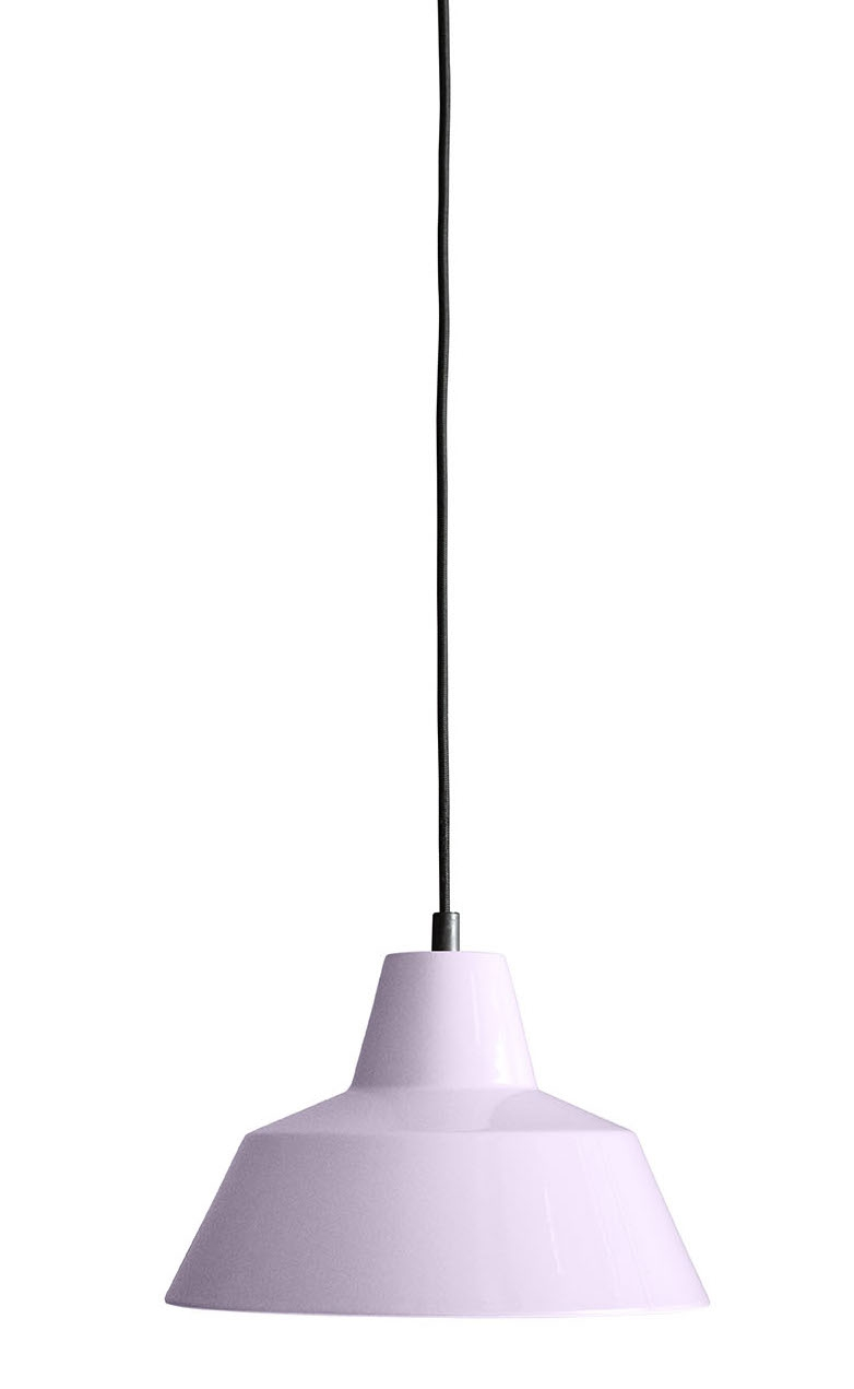 Made by Hand Workshop Lamp W2 light rosa