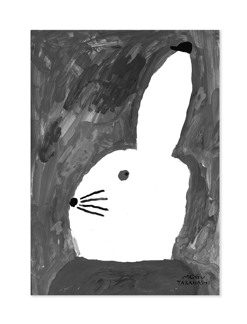 fine little day Poster Rabbit with small hat
