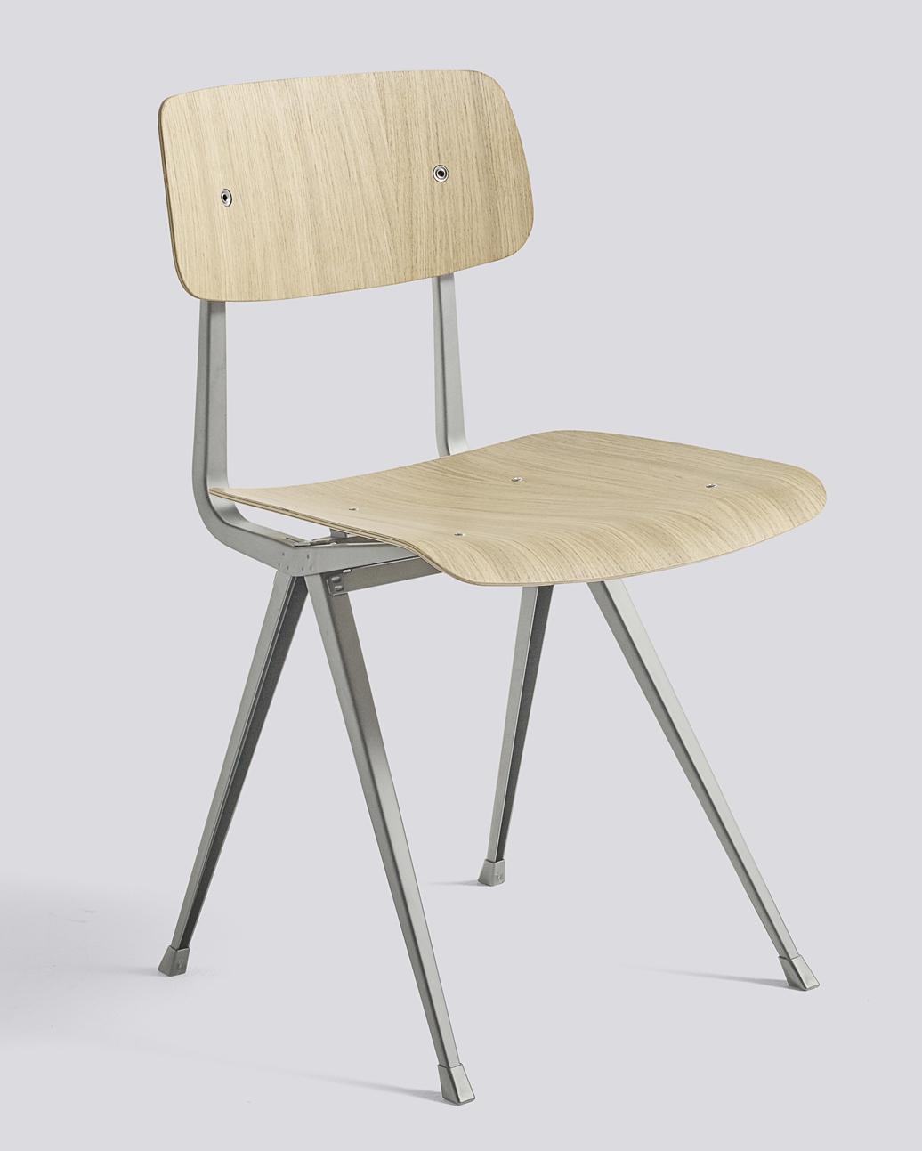 HAY Result Chair beige oak matt laquered