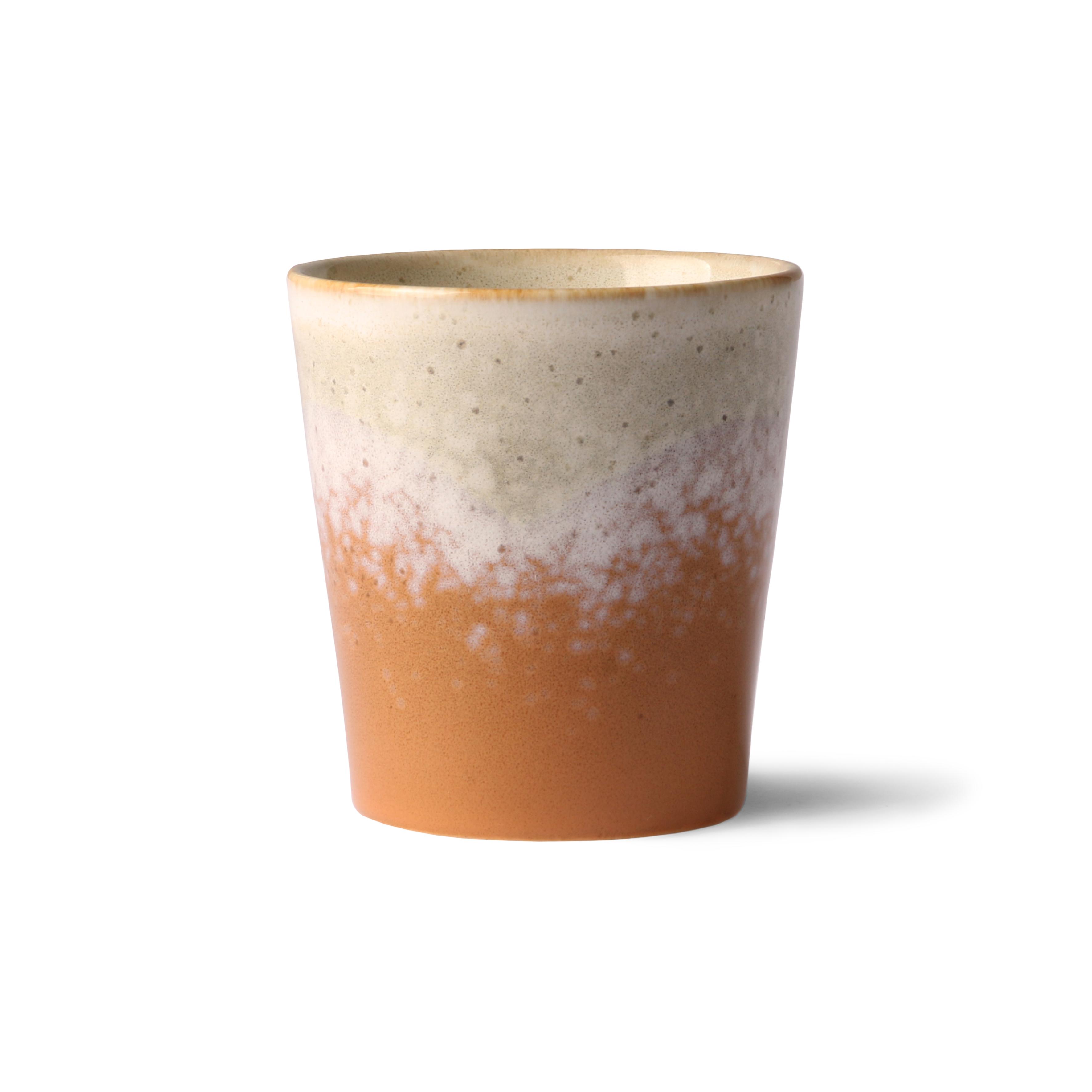 HK Living Ceramic 70's Becher Jupiter