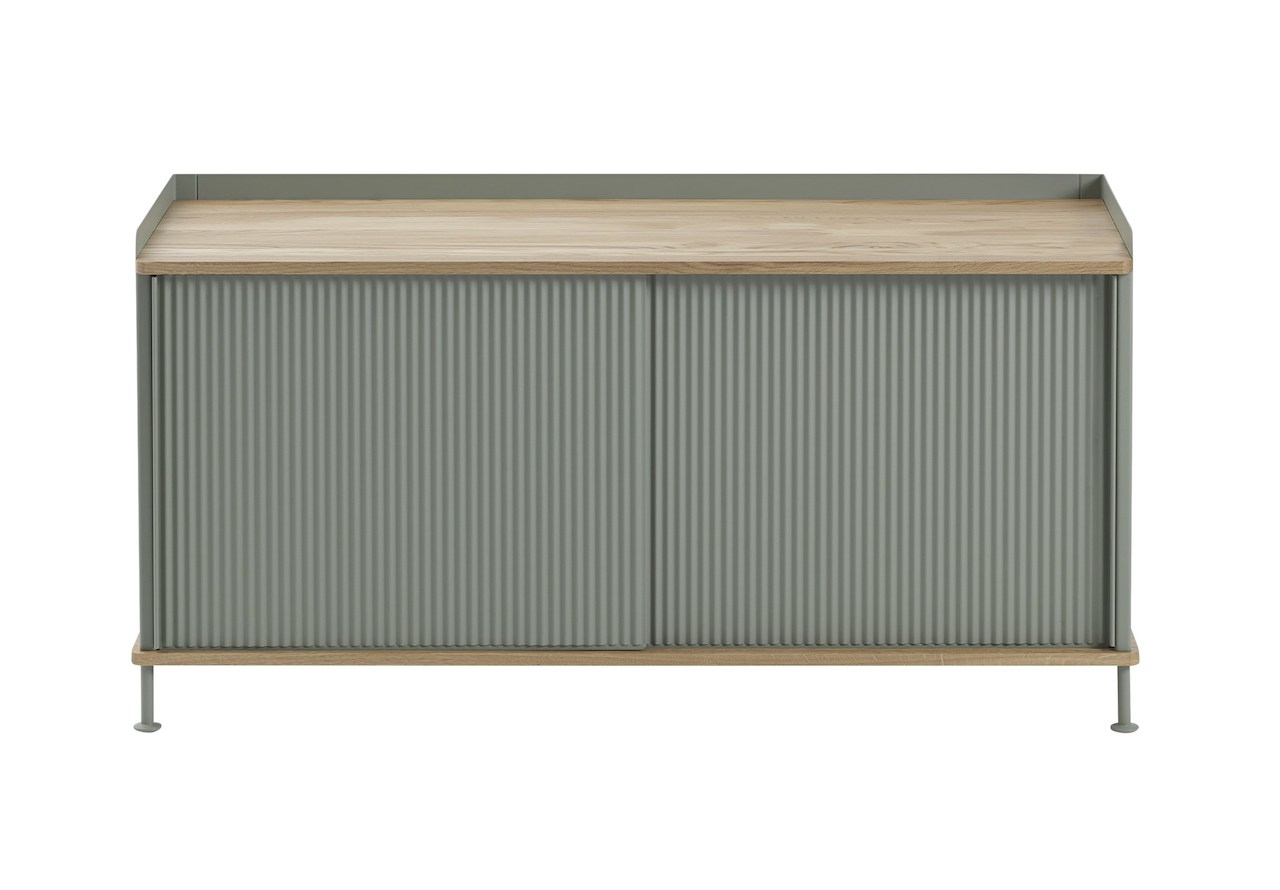 muuto Enfold Sideboard oak/ dusty green