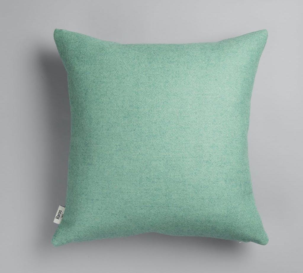 Røros Tweed Kissen Stemor turquoise