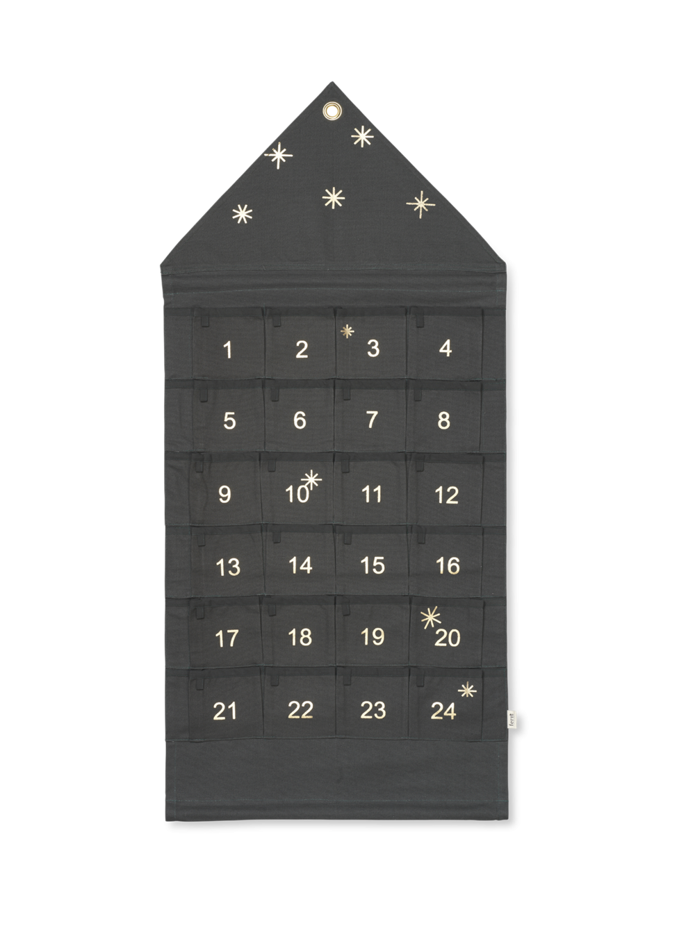 ferm living Adventskalender Star grün