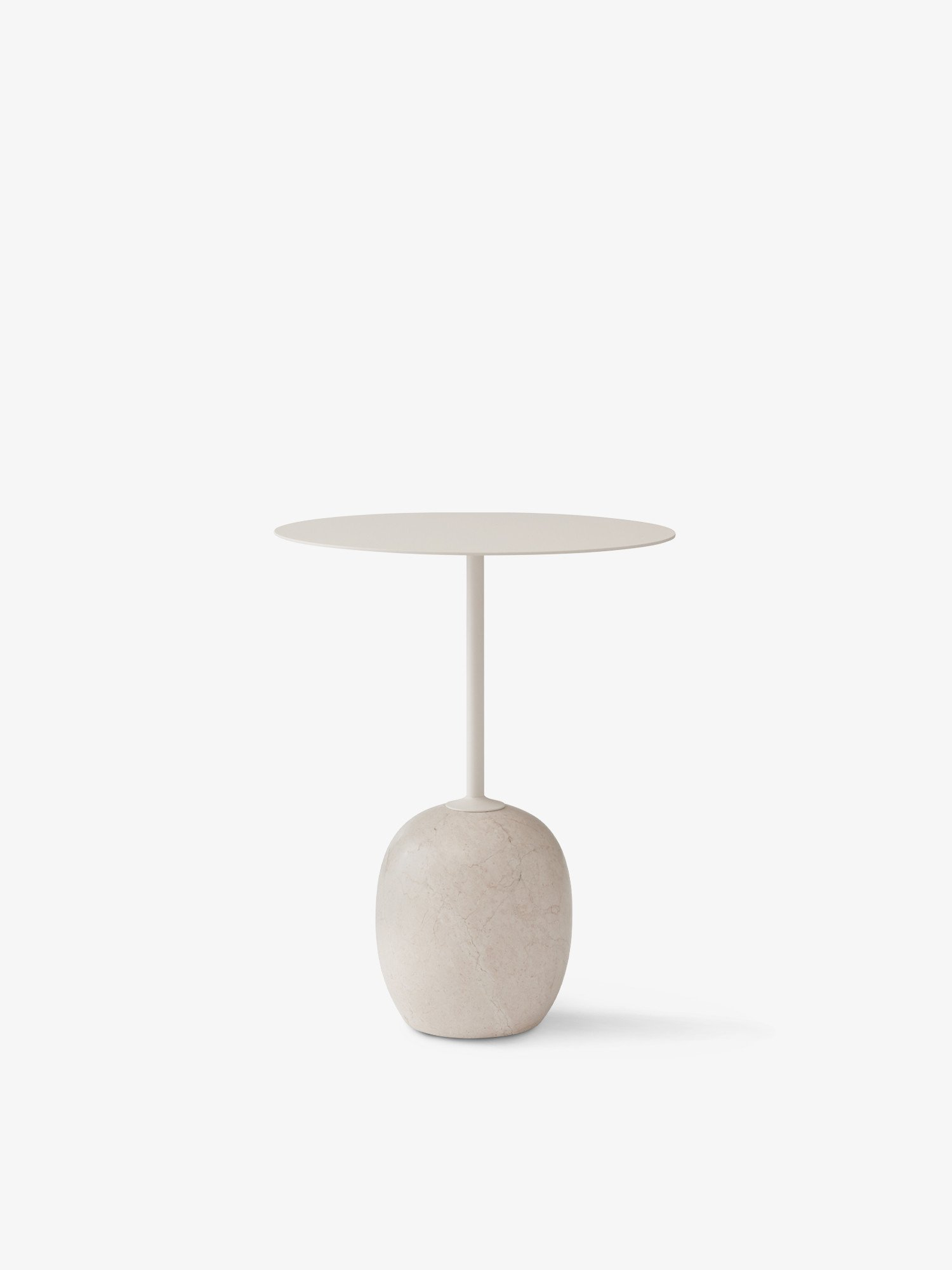 and tradition Lato Table ivory white