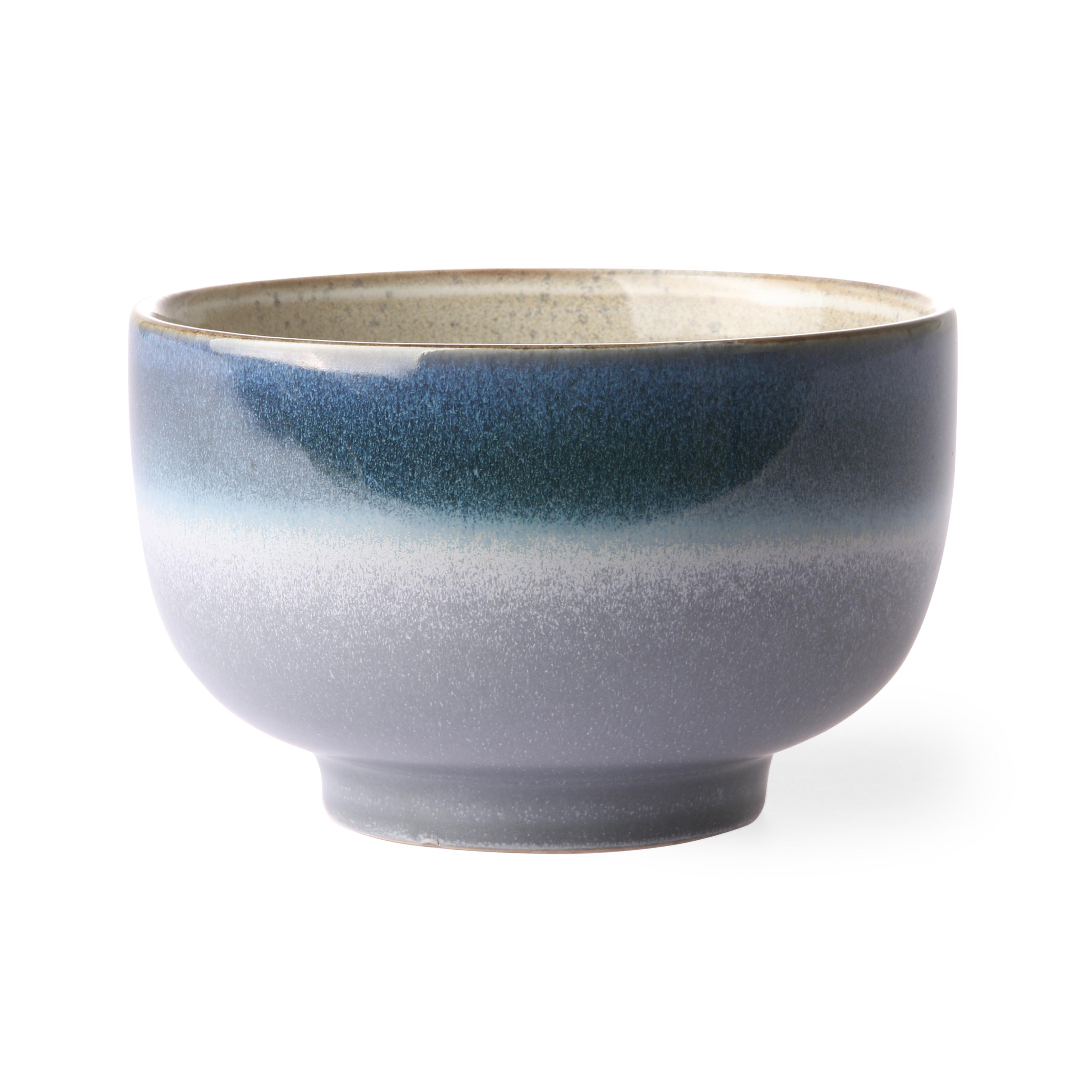 HK Living Ceramic 70's Schale ocean