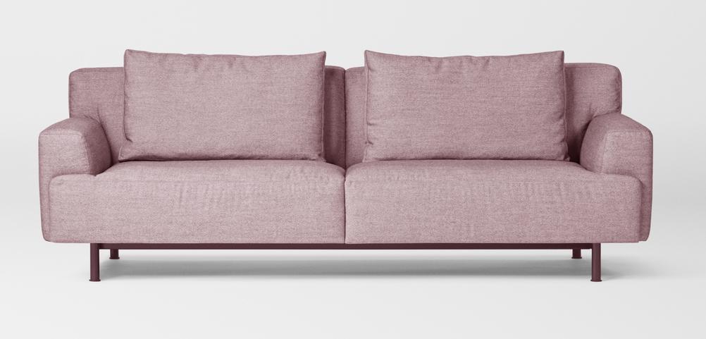 Million Copenhagen Plenty Sofa 3 Seater dusky rose