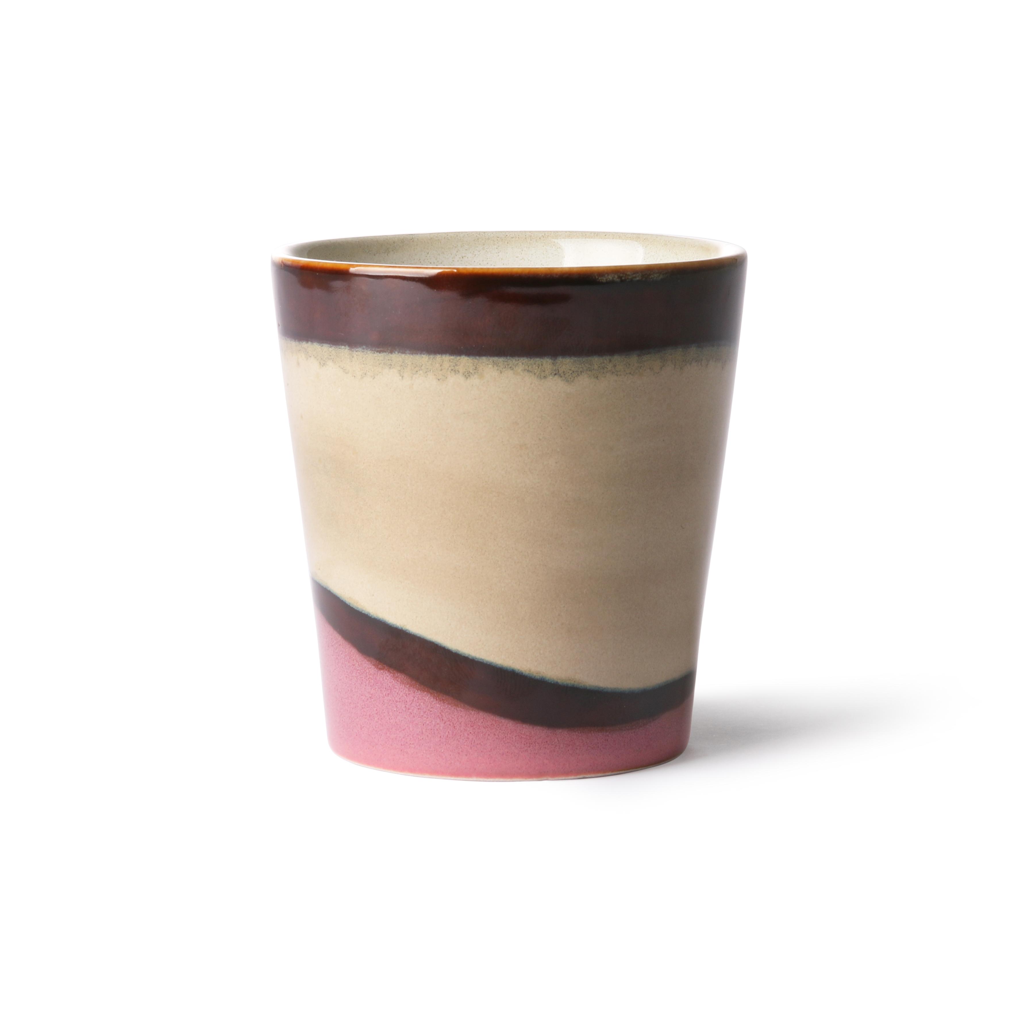 HK Living Ceramic 70's Becher Dunes