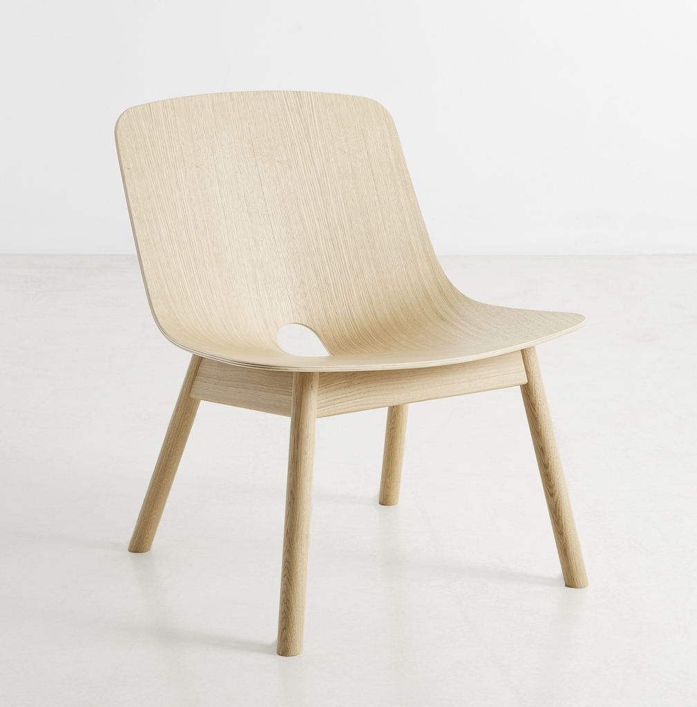 Woud Mono Lounge Chair Oak