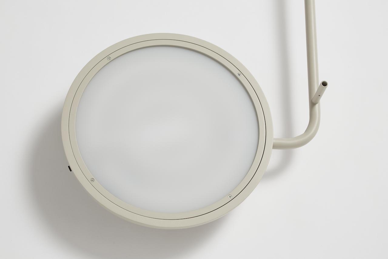 Woud Mercury Wandlampe grau
