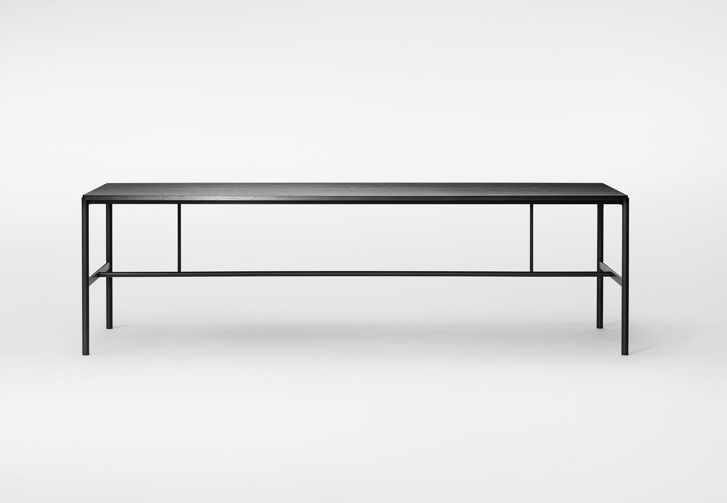 Million Copenhagen MIES Dinig Table black/ black ash stained