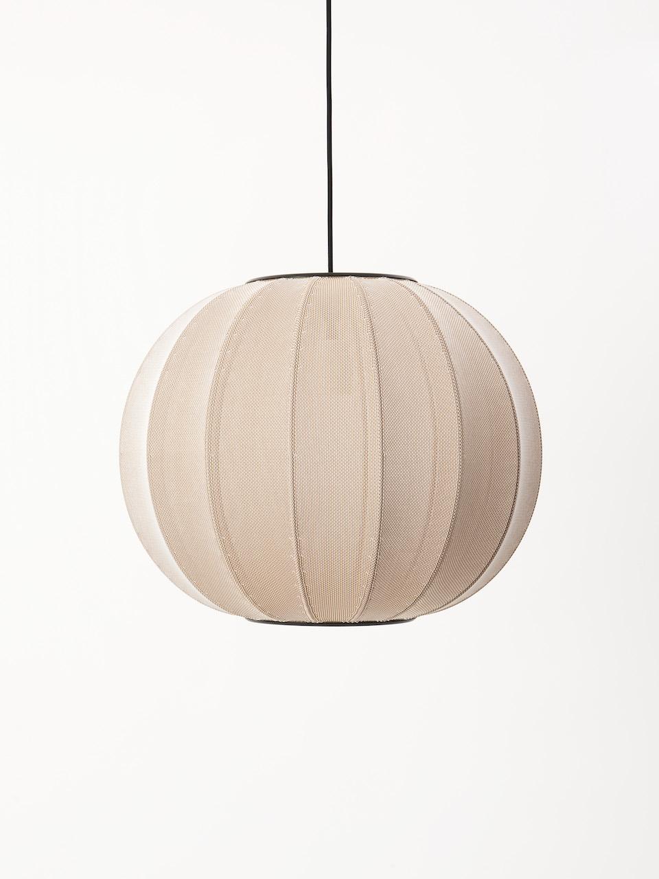 Made by Hand Knit Wit Pendelleuchte Sandstone ø45cm