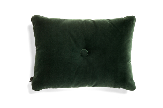 HAY Kissen Dot soft dark green