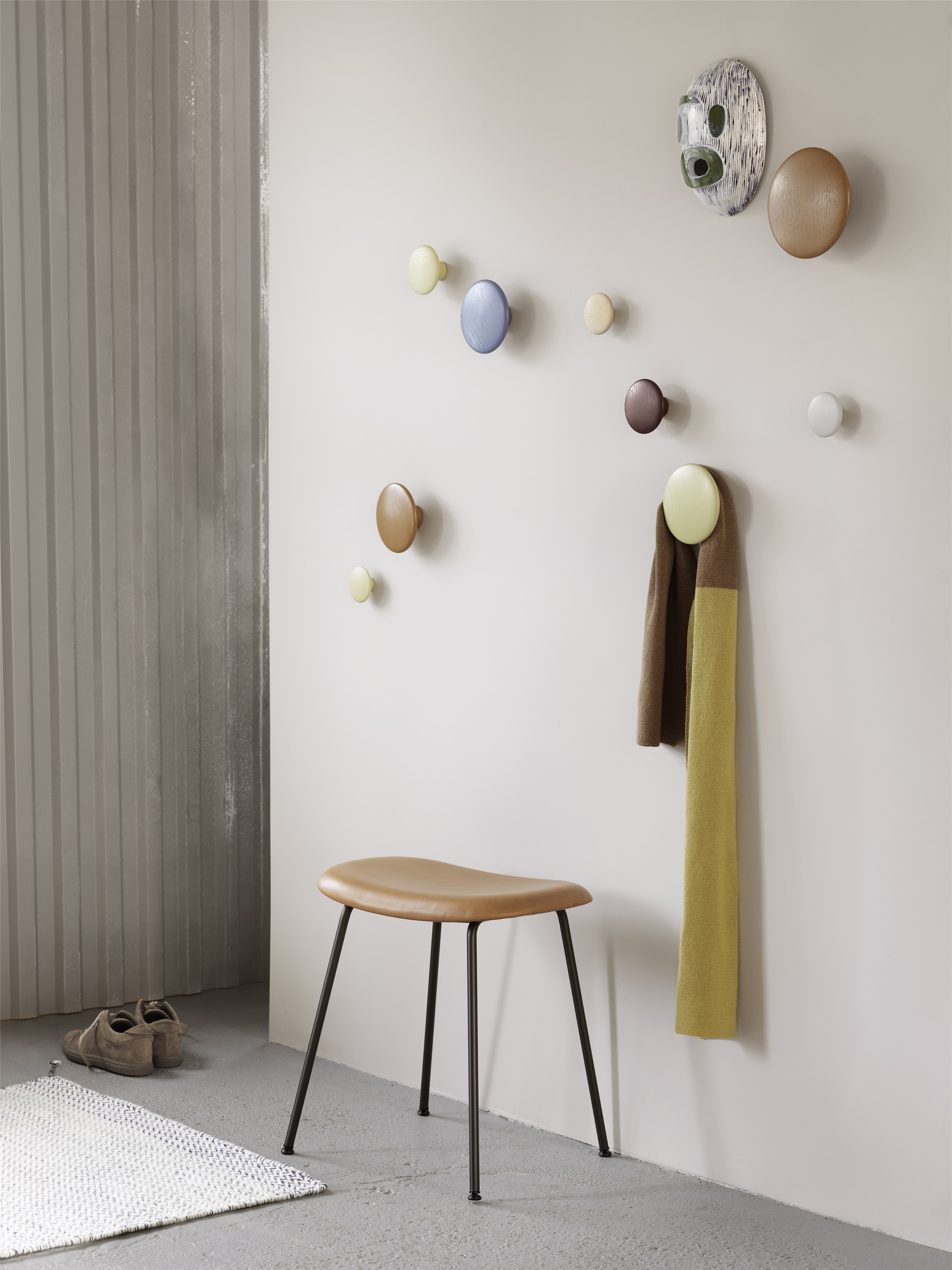 Muuto Dots Wandhaken black m